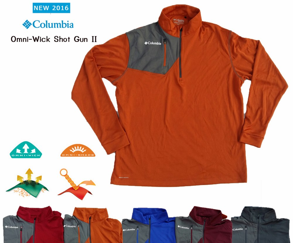 Columbia Omni -Wick Long Sleev Polo