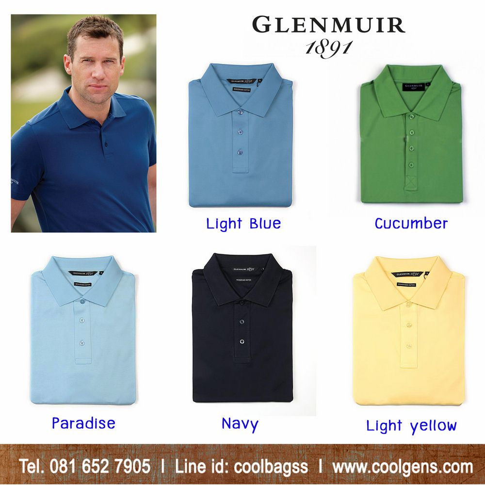 Glenmuir Kinloch Plain Colour Polo Shirt