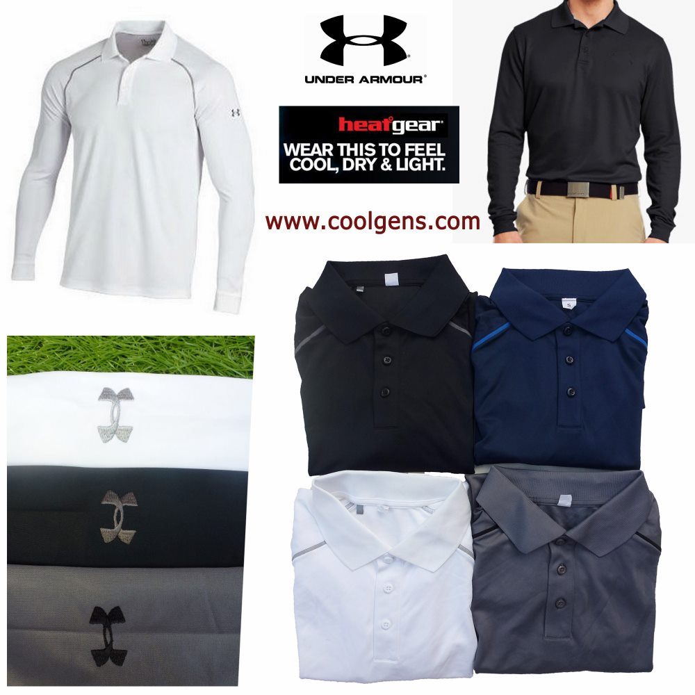 Under Armour Heatgear Long Sleeve Polo ( มาเพิ่ม 200258 )
