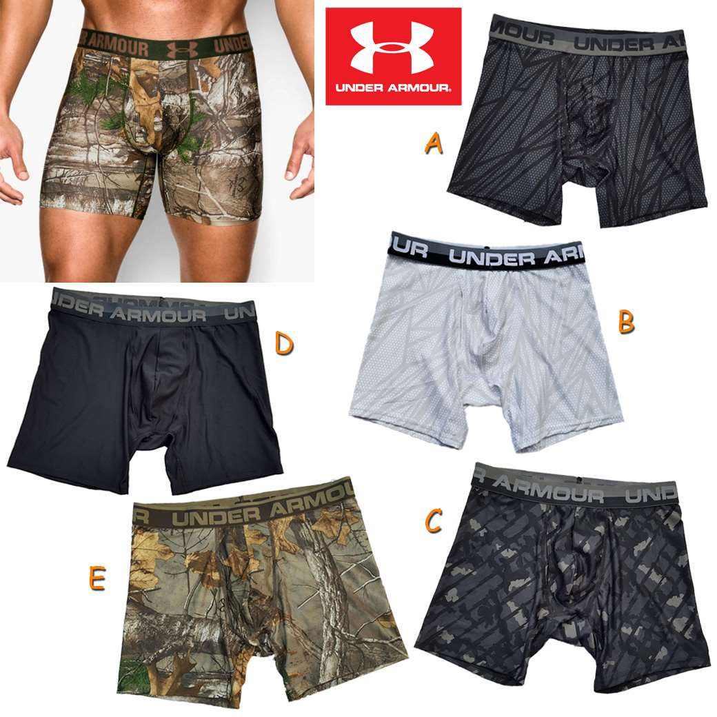 """UNDER ARMOUR OR MESH 6"""" BOXERJOCK ( New update 27-04-59)"""
