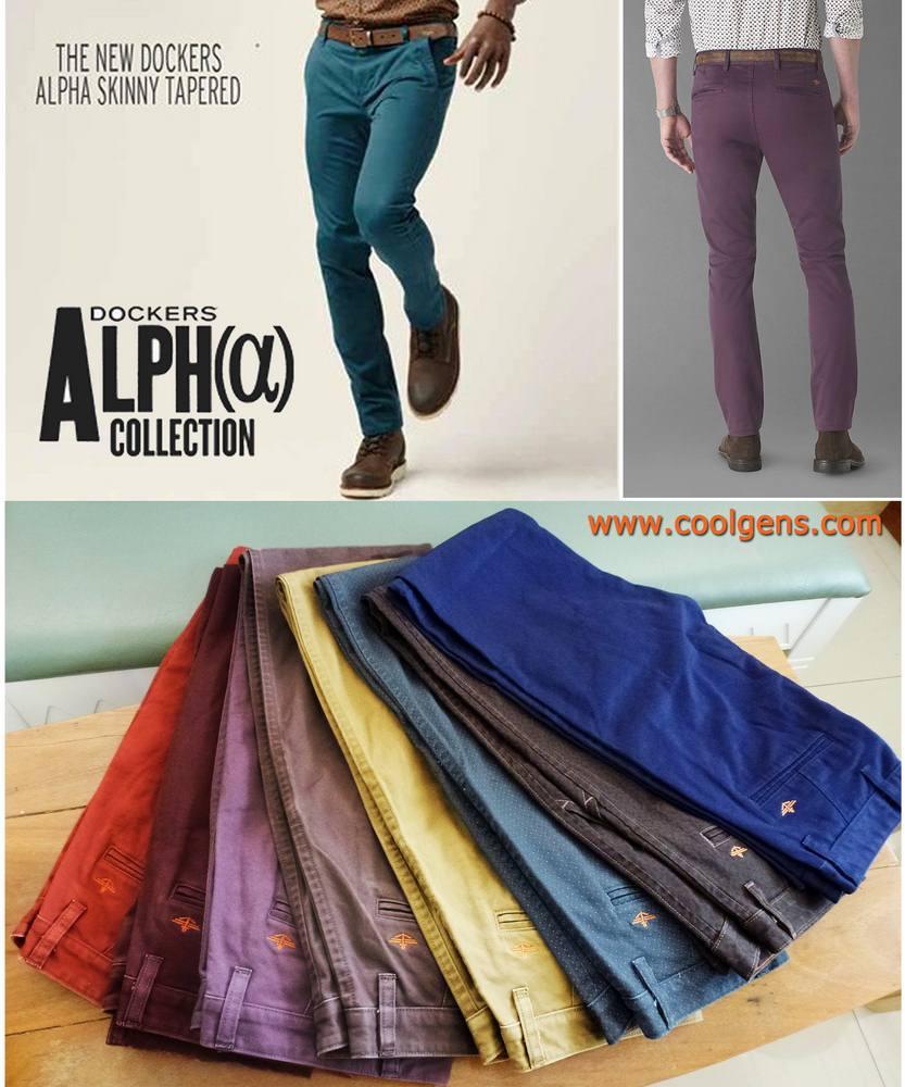 Dockers Alpha Khaki Skinny Tapered