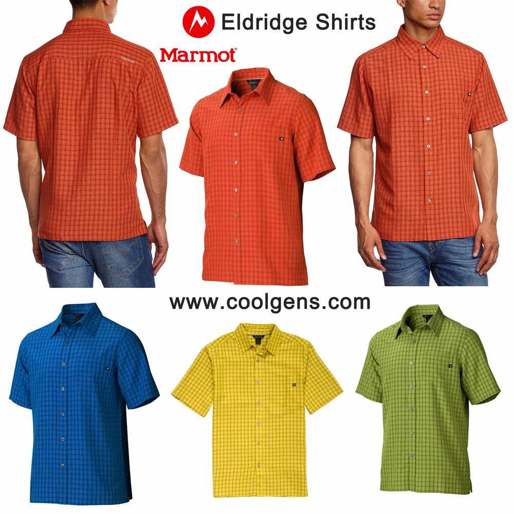 Marmot Eldridge Shirts ( Lightweight & Quik dry )