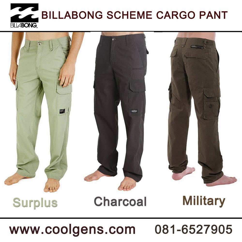Billabong Scheme Cargo Pants ( มาเพิ่ม 23-04-58 )