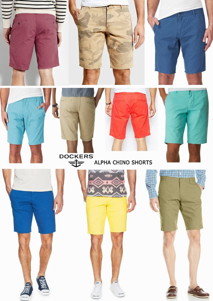 DOCKERS ALPHA CHINO SHORTS