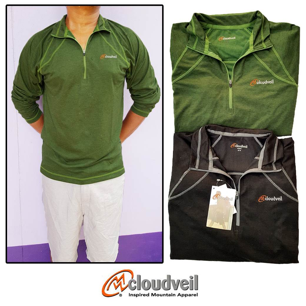 Cloudveil lightweight 1/4 Zip Pullover