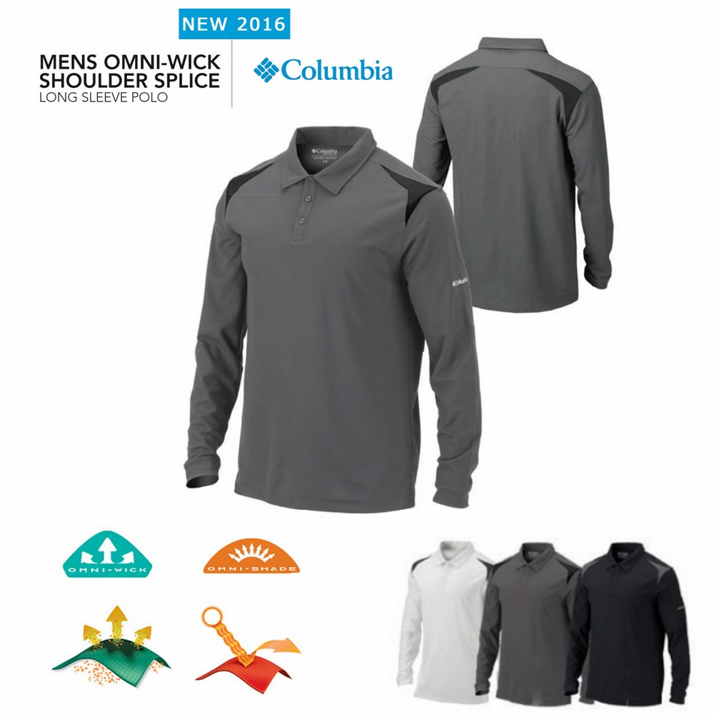 Columbia Shoulder Splice Polo