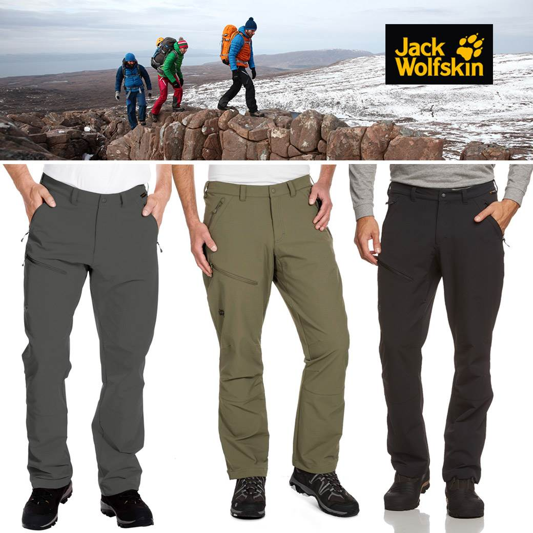 Jack Wolfskin Softshell Activate Pants ( update 1/11/59)