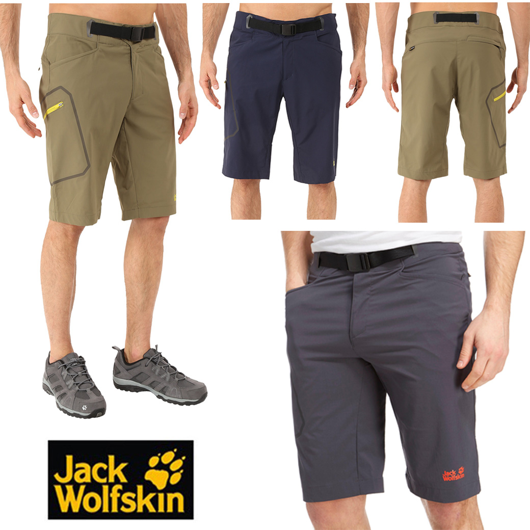 Jack Wolfskins Rock Shorts
