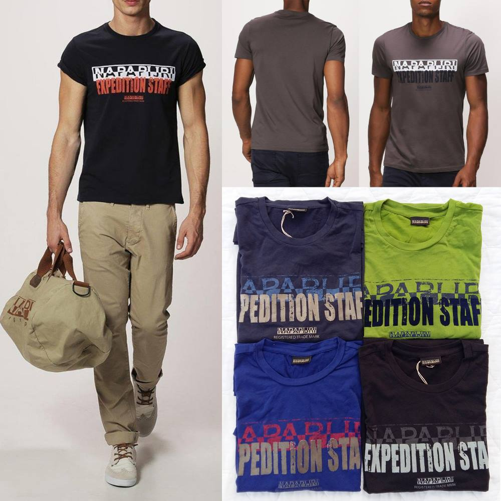 Napapijri Feed Print T-Shirt ( มาเพิ่ม 10-06-58)