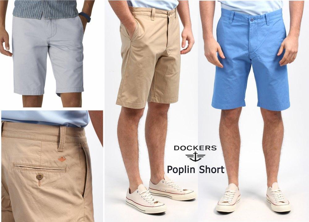Dockers Poplin Short ( มาเพิ่ม 03-05-58)