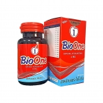 BioOne ไบโอวัน แอสต้าแซนทินจากสาหร่ายแดง ผสมตังถั่งเช่า 60 แคปซูล ราคา *** บาท ส่งฟรี