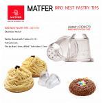 Matfer bird nest pastry-tips