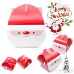 กล่องเค้ก หูหิ้ว ซานต้า