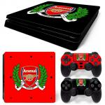 Sticker PS4 Slim - Arsenal 1