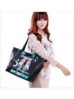 กระเป๋า Axixi กระเป๋าสไตล์ญี่ปุ่น และสไตล์เกาหลี สีดำโมเดิร์น ร้าน Asia Street Fashion