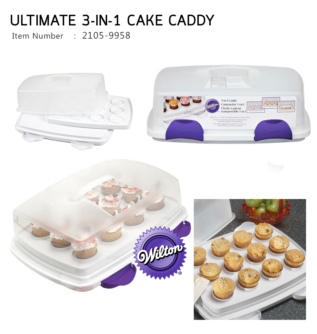 Wilton Ultimate 3 in 1 Caddy (2105-9958)