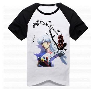 เสื้อยืด Inuyasha Sesshoumaru [แขนดำ]