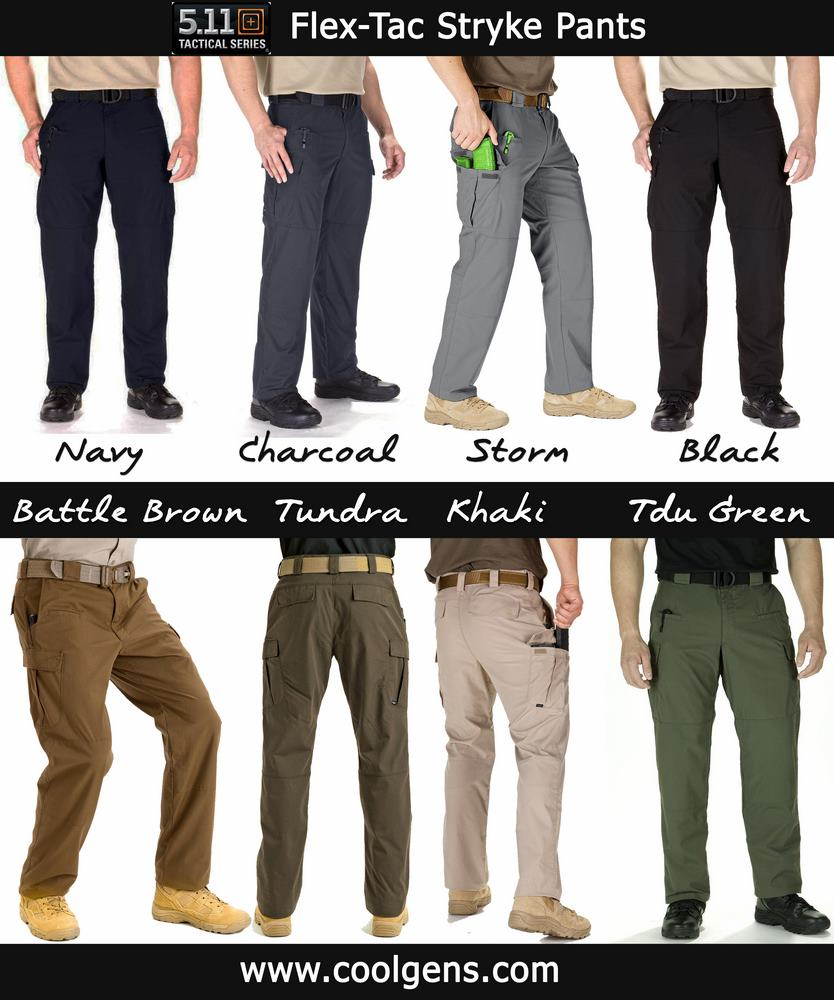 5.11 Tactical Men's Stryke Pants With Flex Tac