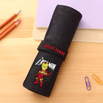 Preorder กระเป๋าเครื่องเขียนม้วน IRON MAN