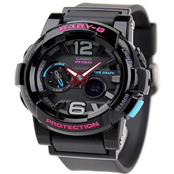นาฬิกาข้อมือ คาสิโอ Casio Baby-G รุ่น BGA-180-1BDR