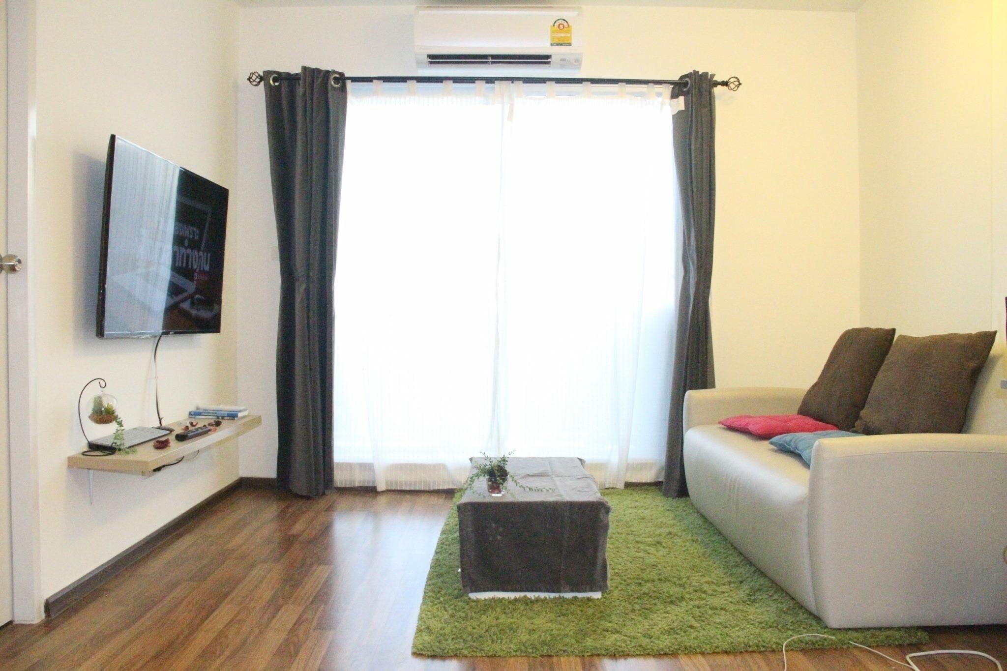 ให้เช่า คอนโด ยูคอนโดรัชโยธิน (U Condo Ratchayothin) 1 ห้องนอน 1 ห้องน้ำ เนื้อที่ 44 ตารางเมตร 1 ห้องนั้งเล่น 1 ห้อง ห้องครัว