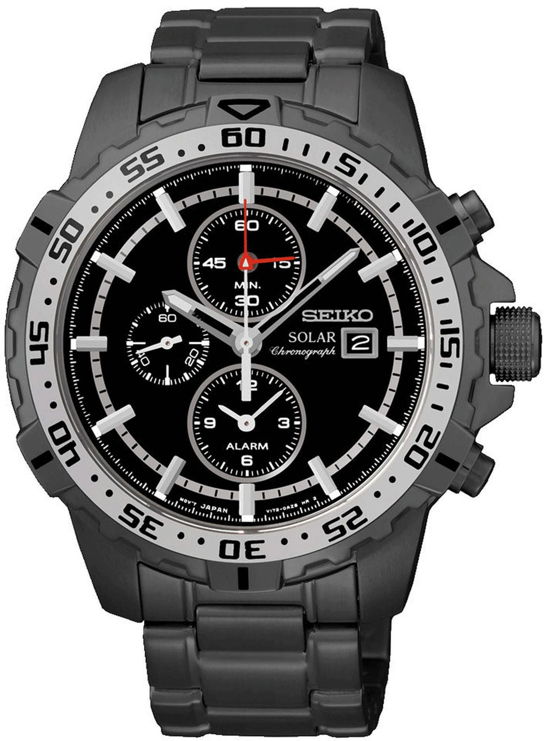 SEIKO SOLAR CHRONOGRAPH MENS WATCH SSC301P1