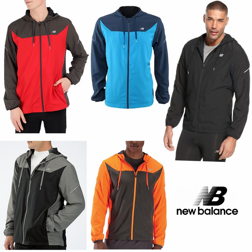 New Balance Men's Sequence Hooded Jacket