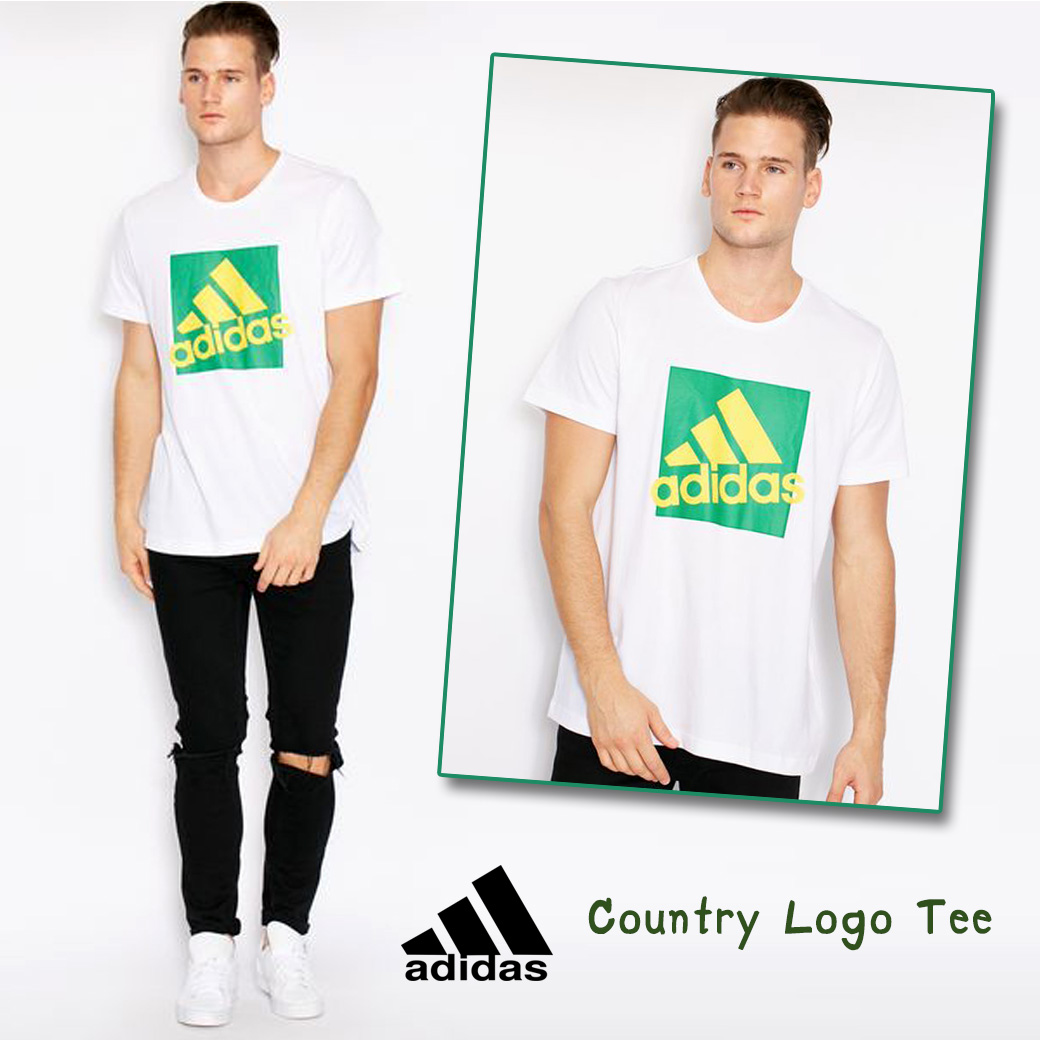 Adidas Country Logo Cotton Tee