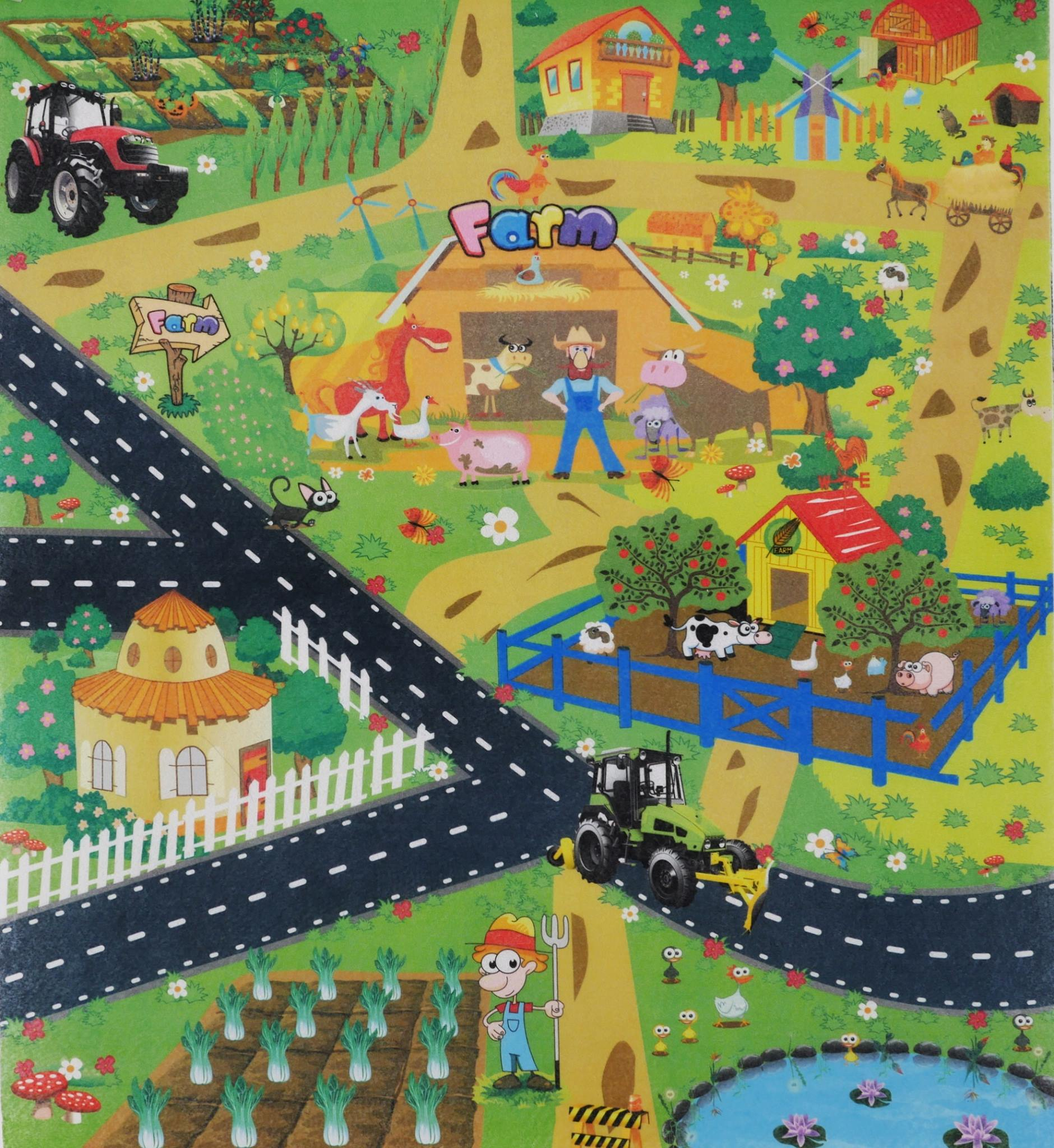 แผนที่ Farm พร้อมรถ 1 คัน