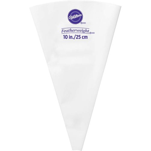 """Wilton 10"""" Feather Weigh Piping Bag (404-5109)"""