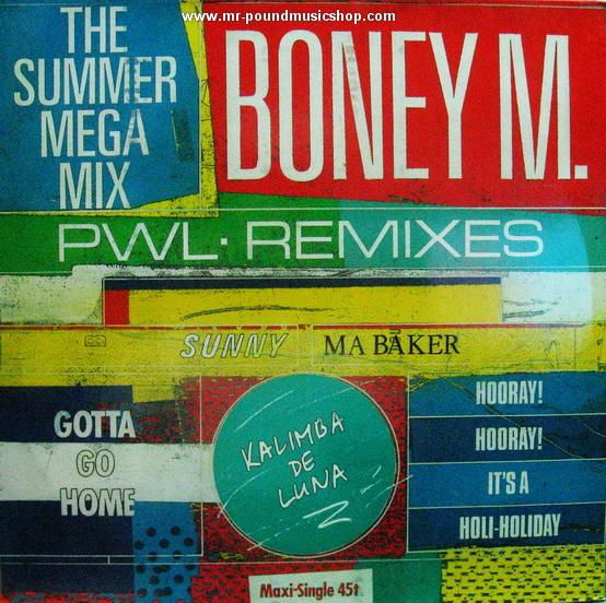 Boney M. - The Summer Mega Mix / The Calendar Song