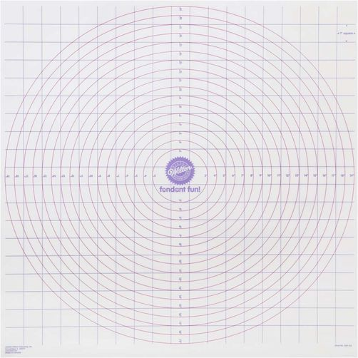Wilton roll&cut mat fondant (409-412) / ROLL-N-CUT MAT