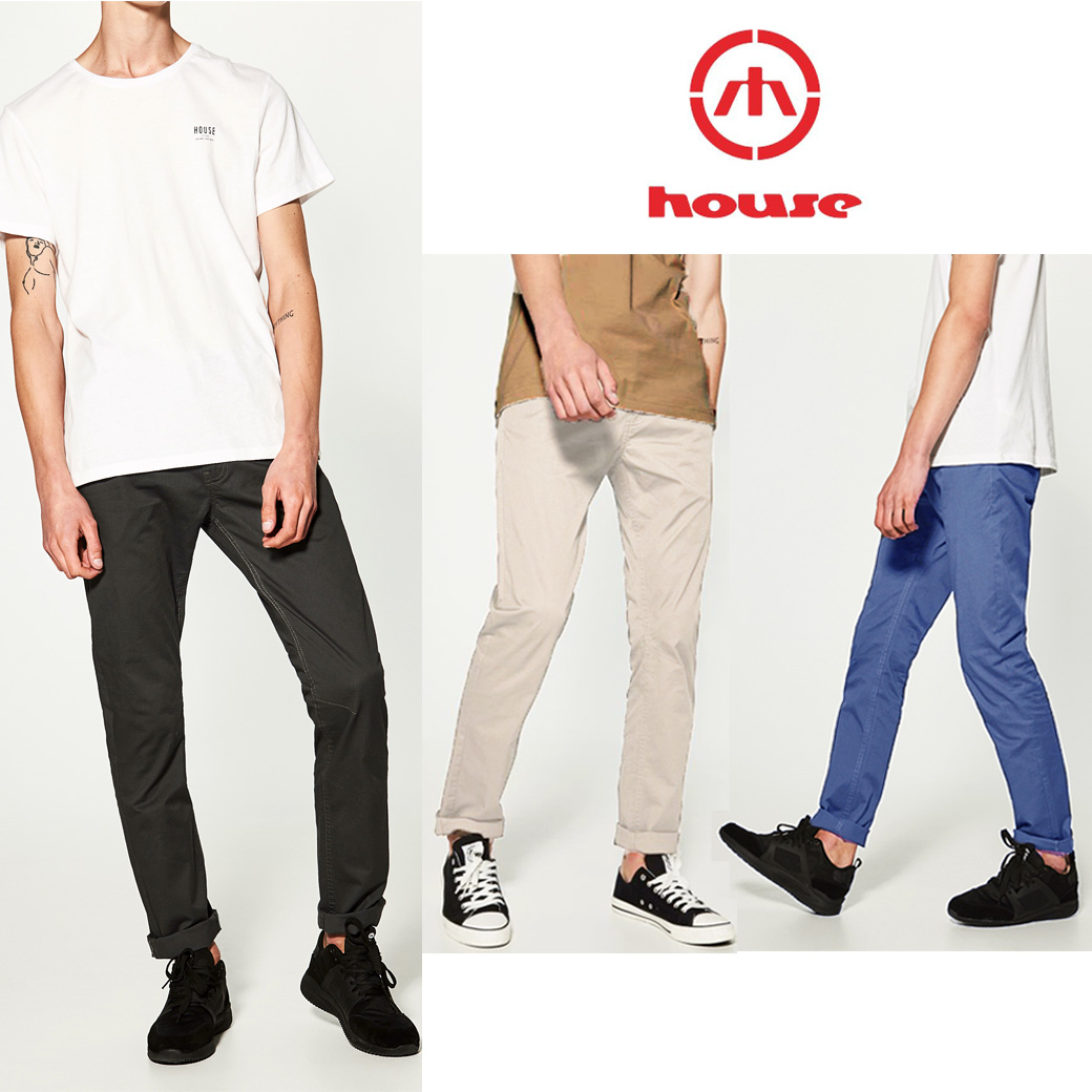House Brand Stretch Chino Pant