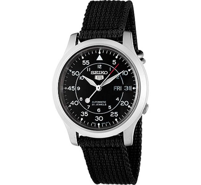 Seiko SNK809K2 Seiko 5 Military Automatic Mens Watch