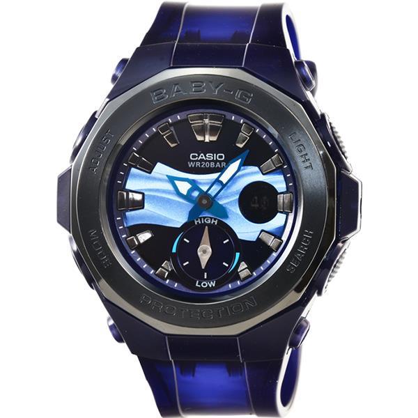 นาฬิกาผู้หญิง CASIO Baby-G รุ่น BGA-220B-2A Beach Glamping Series