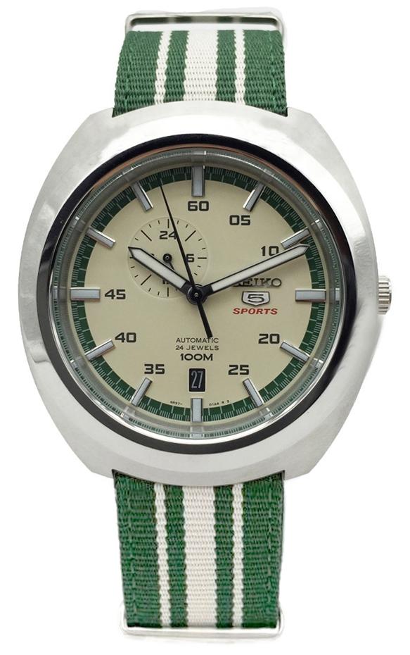 นาฬิกาผู้ชาย SEIKO 5 Sports รุ่น SSA285K1 Automatic Men's Watch