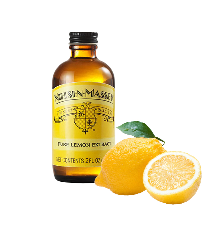 Neilsan Massey Madagascar Lemon Extract 2 oz.(59 ml)