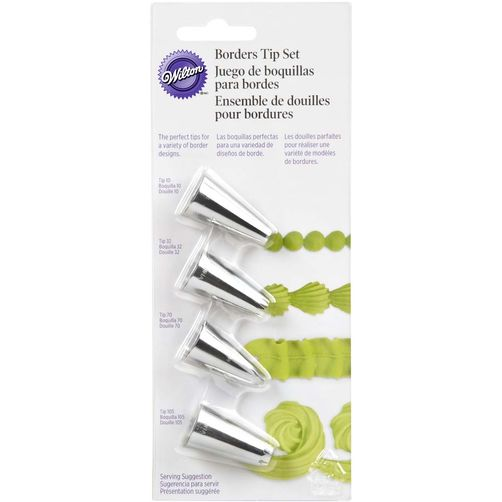 Wilton BORDERS TIP SET ( 418-4567 )