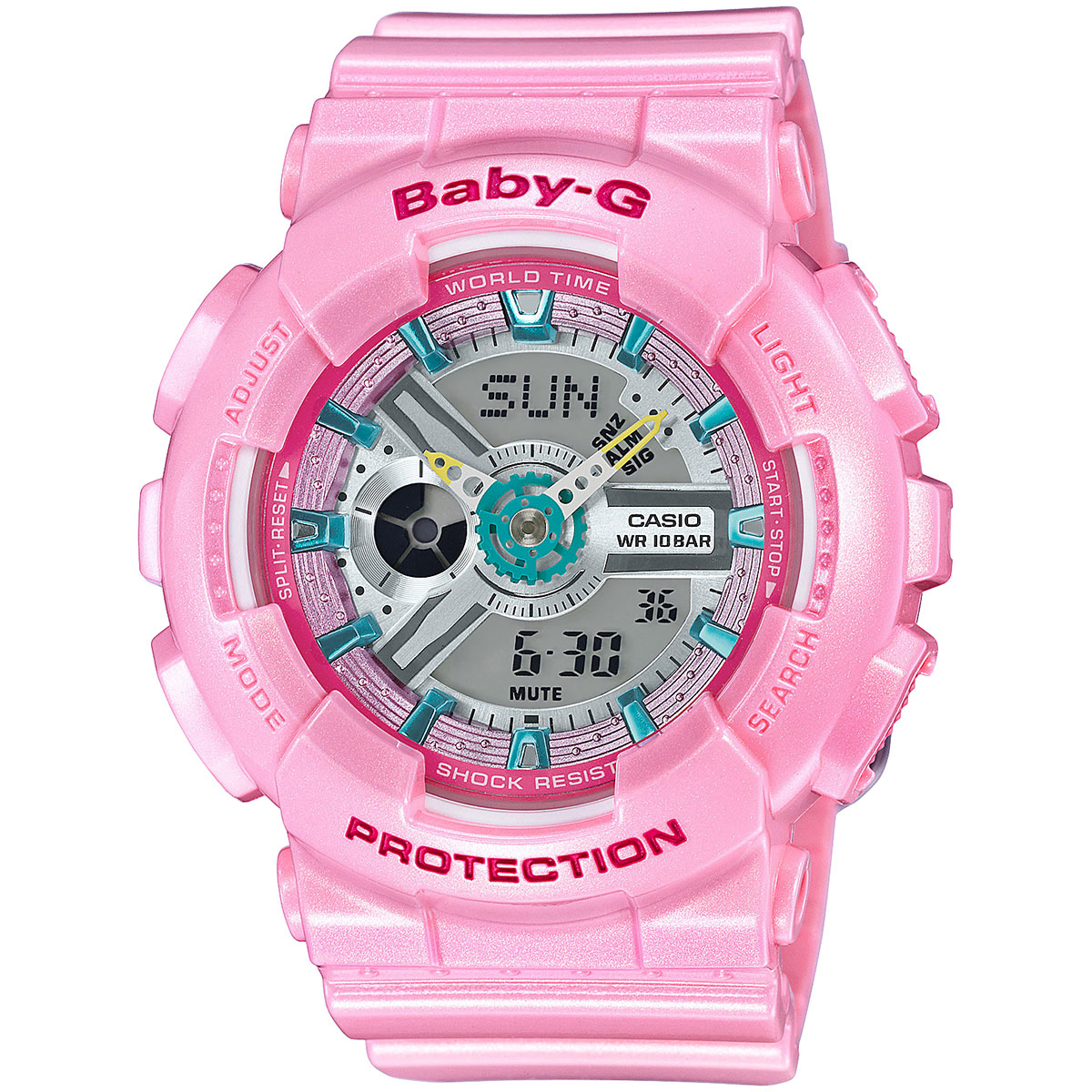 นาฬิกาผู้หญิง CASIO Baby-G รุ่น BA-110CA-4A Standard Analog Digital Ladies Watch