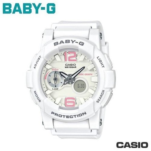นาฬิกาผู้หญิง CASIO Baby-G รุ่น BGA-180BE-7B Beach Pastel Color Series