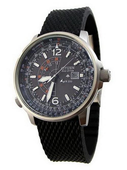 Citizen Promaster Eco Drive Nighthawk BJ7010-09E BJ7010-09 Men's Watch