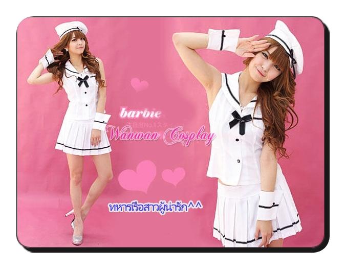 ชุดทหารเรือสาวผู้น่ารัก ให้เช่าราคาถูก 094-920-9400,094-920-9402