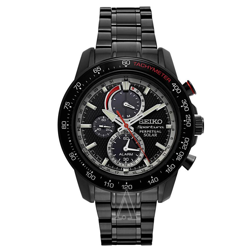 นาฬิกาผู้ชาย SEIKO Sportura รุ่น SSC373 Solar Chronograph