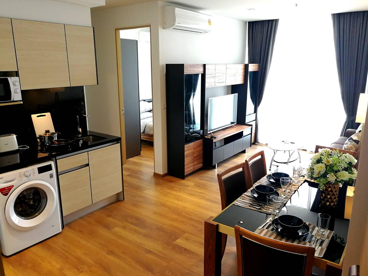 ให้เช่าคอนโด Park 24 (พาร์ค 24) 2 ห้องนอน 1 ห้องน้ำ ชั้น 26 ขนาด 54 ตรม