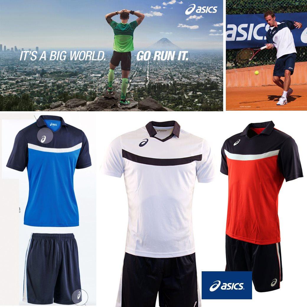 ASICS Set Mundial ( Tee + Shorts )