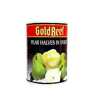 Goldreef Pear Halves in Syrup (ลูกแพรในน้ำเชื่อม)