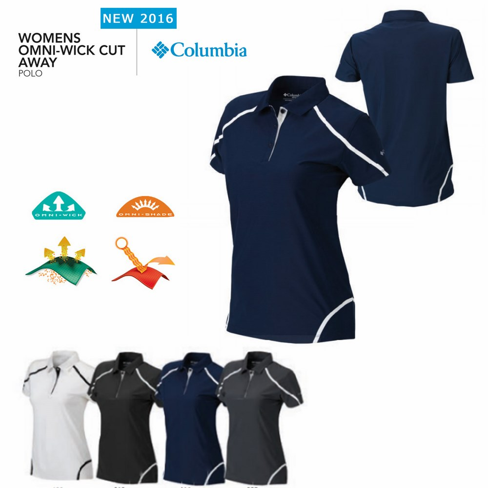 Columbia women's Cut Away Polo