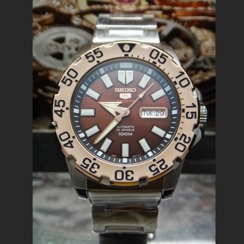 นาฬิกาผู้ชาย Seiko New Mini Monster Automatic Men's Watch รุ่น SRP488K1