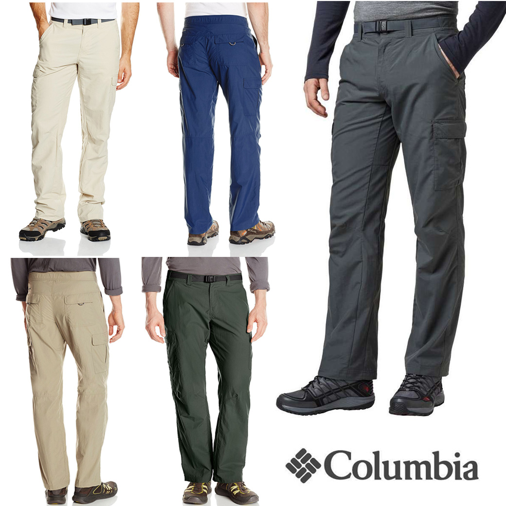 Columbia Men's Cascades Explorer Pants ( รวมเข็มขัด )