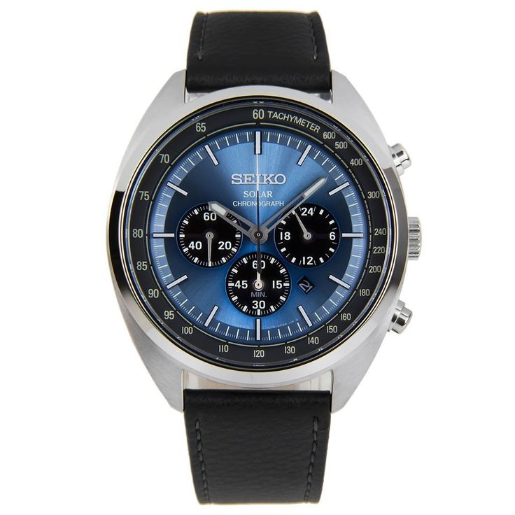 Seiko Solar นาฬิกาข้อมือผู้ชาย Chronograph Tachymeter SSC625 SSC625P1